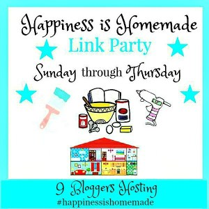 Happiness Is Homemade Link Party 2019