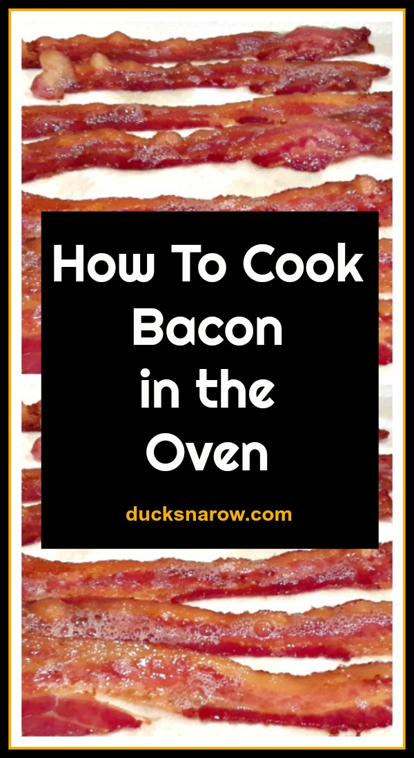 The easy way to cook bacon in the oven #tips