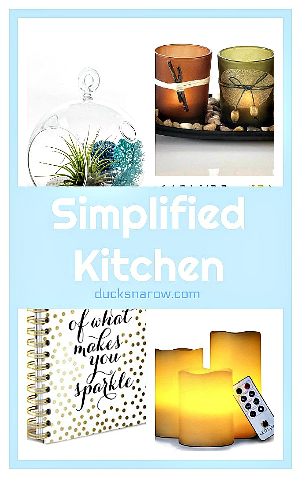 How to simplify your kitchen decor #organizing #tips #homedecor