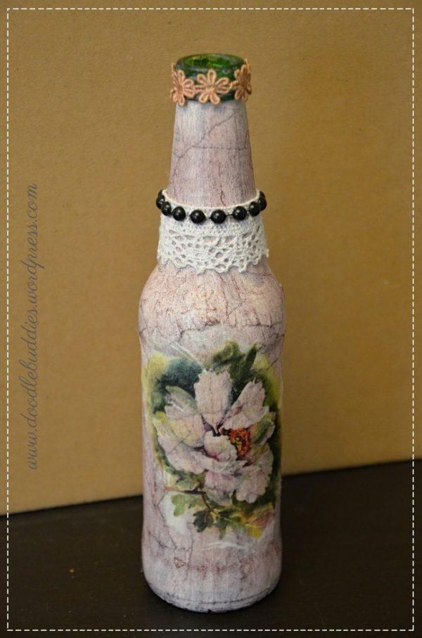 Decorative bottle DIY