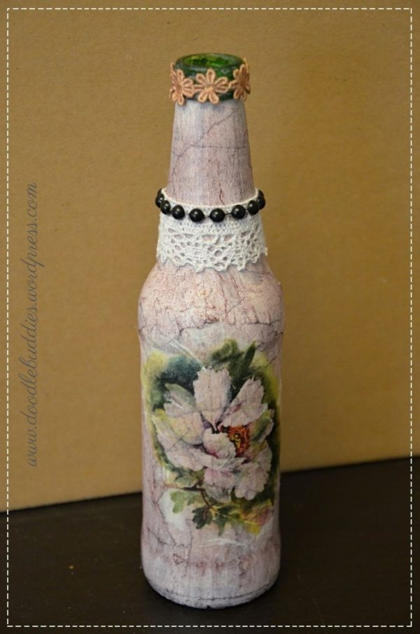 Decorative bottle DIY