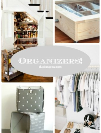 Organizers for organizing #storage #tips