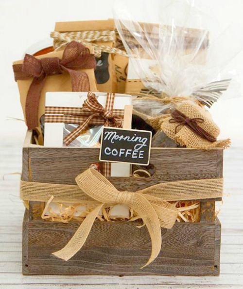 Coffee Gift Box #coffee #gifts