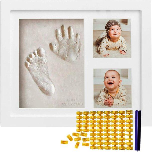 Baby handprint frame gift #ad