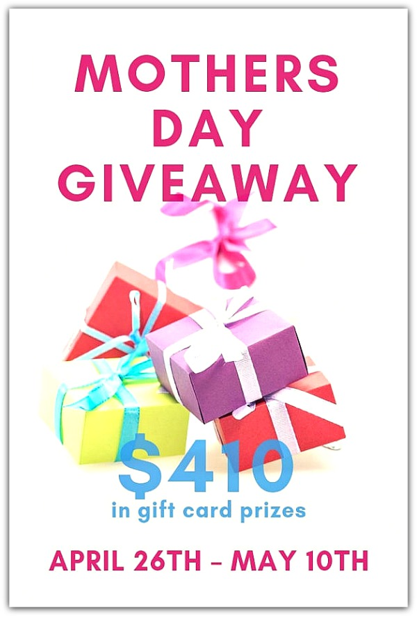 Mother's Day GiftCard Giveaway 2019
