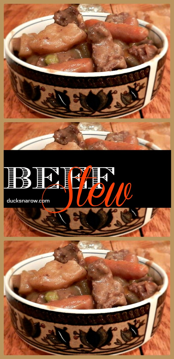 Tummy warming classic slow cooker beef stew #easydinners #recipes