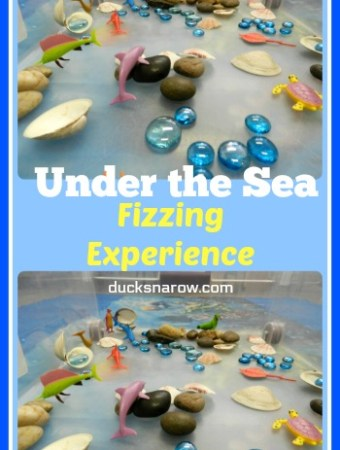 O is for Ocean activity also works for U is for Under the Sea #preschool
