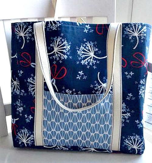 Simple tote bag tutorial #DIY