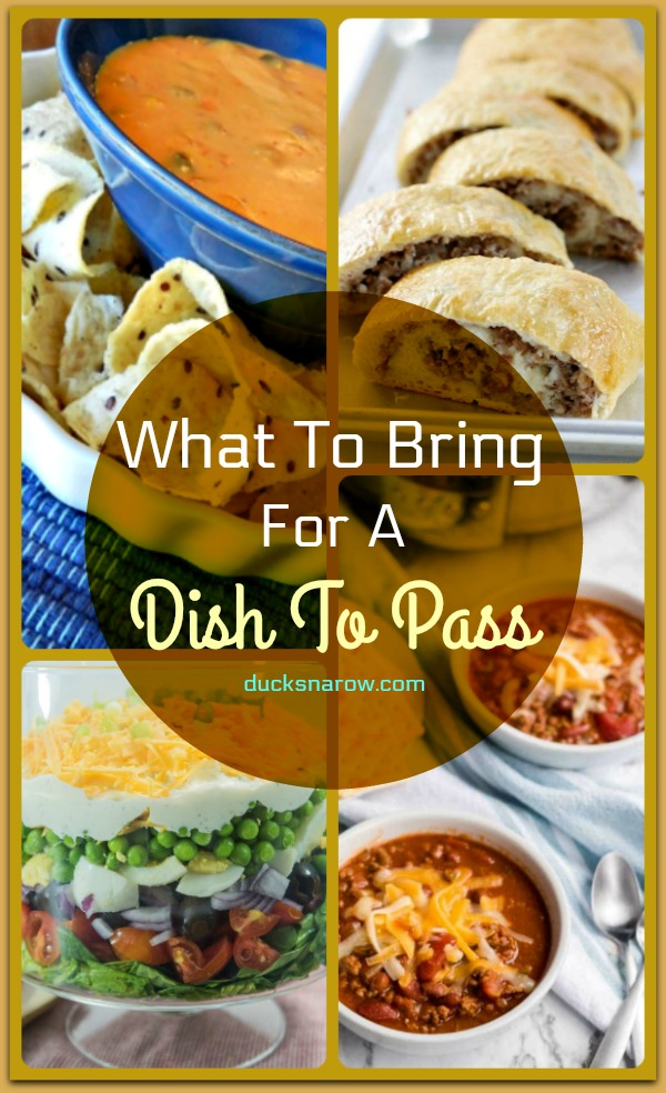 What to bring for a dish to pass #tips