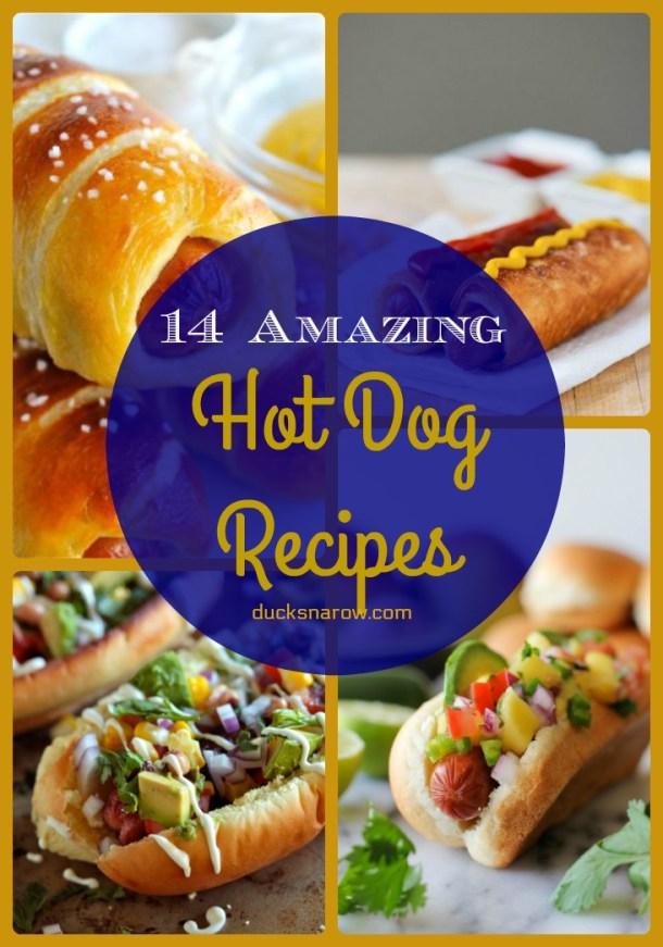 14 amazing hot dog recipes #recipes