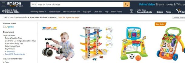 Amazon dashboard search filters #ad