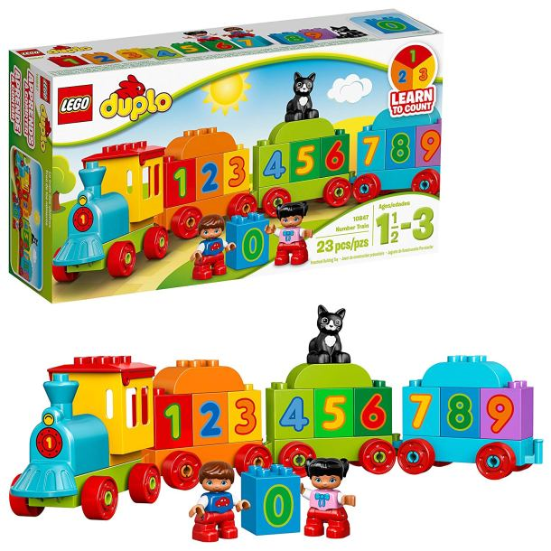 My first number train for toddlers by Lego Duplo #ad