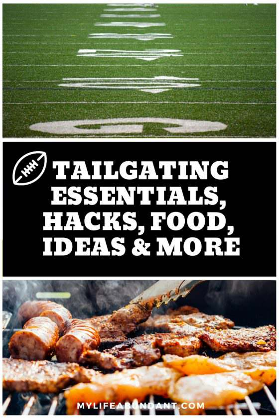 Tailgating essentials #tips