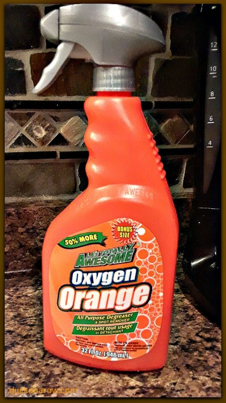Oxygen orange cleaner #ad #tips