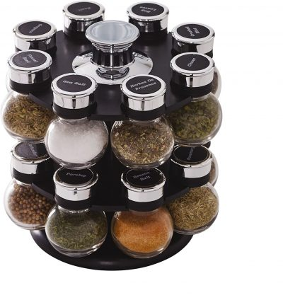 Countertop revolving spice rack from Amazon #ad