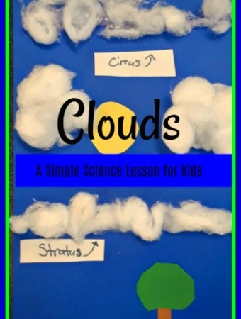 Teaching kids about clouds #weather #science #kids