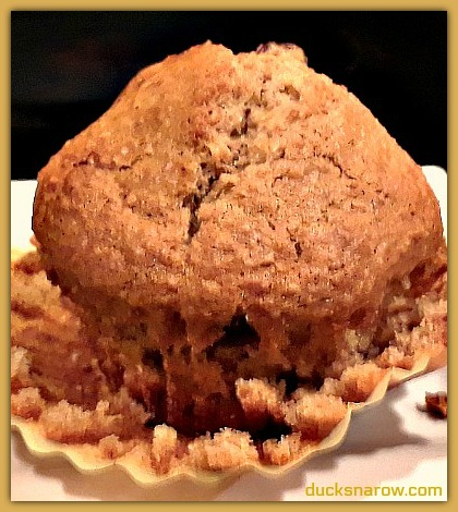 Raisin bran muffin NOT made with cereal #recipes