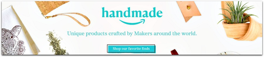Handmade products from Amazon #ad