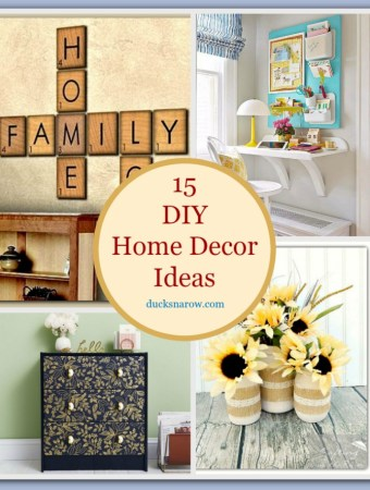 15 DIY Home Decor ideas