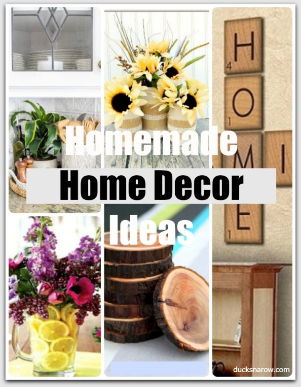 15 Homemade Home Decor Ideas