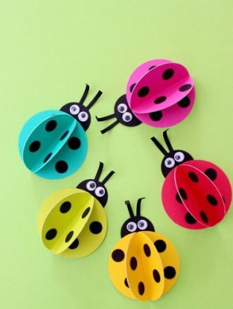 Lady Bug crafts