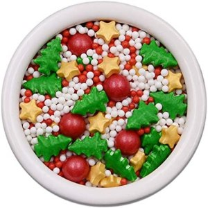 Edible decorations for Christmas cookies #ad