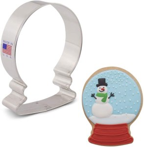Snow globe shaped cookie cutters #ad