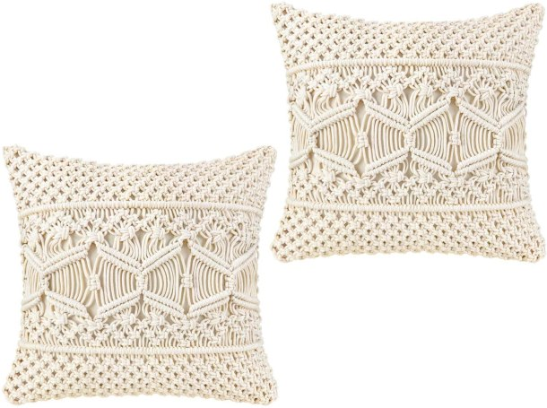 Crochet pillow covers #ad