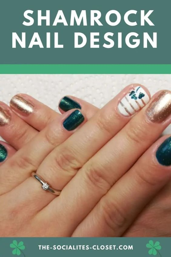 Shamrock Nail Design
