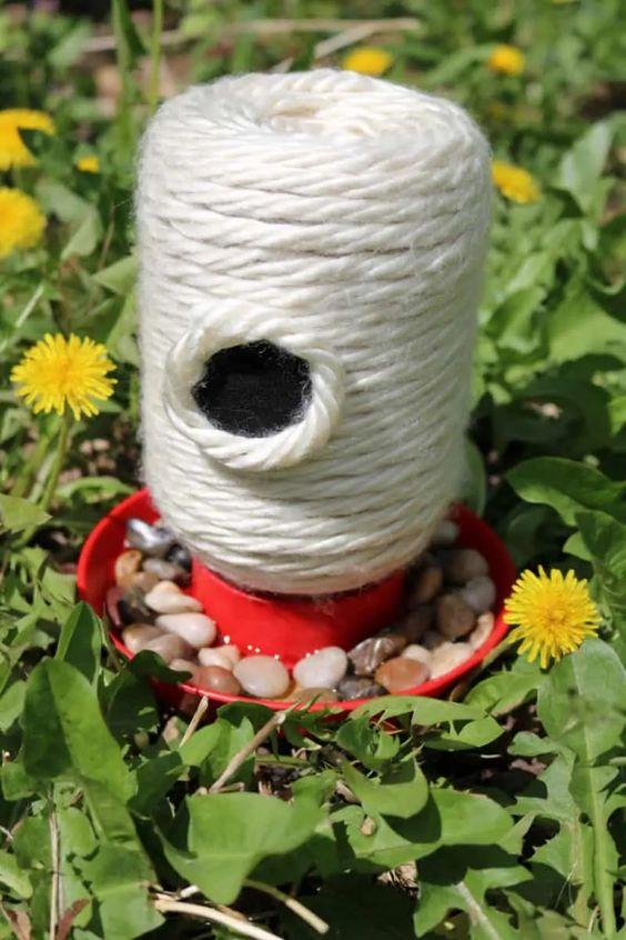 DIY Bee Feeder