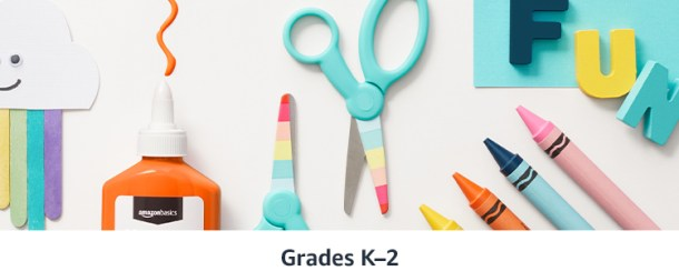 Back to school supplies for kids
