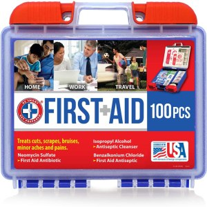 Be smart get prepared - first aid kit
