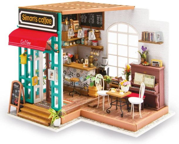 Miniature 3D doll house to make yourself