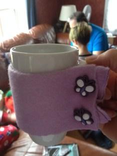 Mug cosy from Little Miss