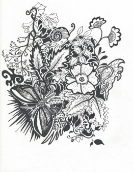 Fluttery and Flowery