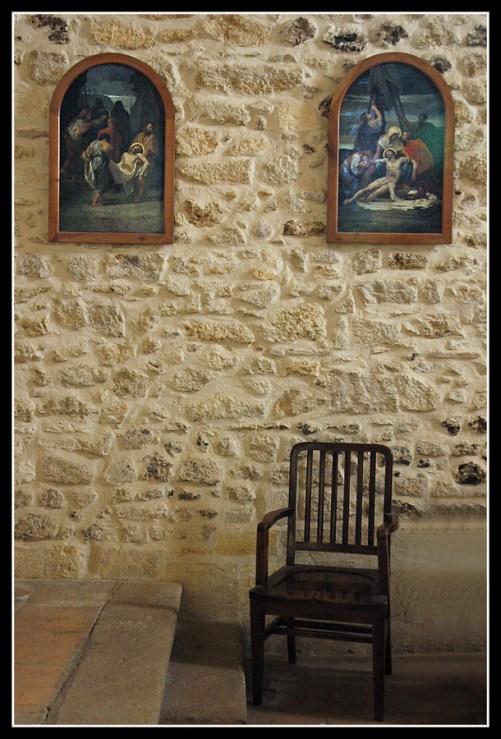 CP-DSC_5086-fauteuil & 2 tableaux église Lanton