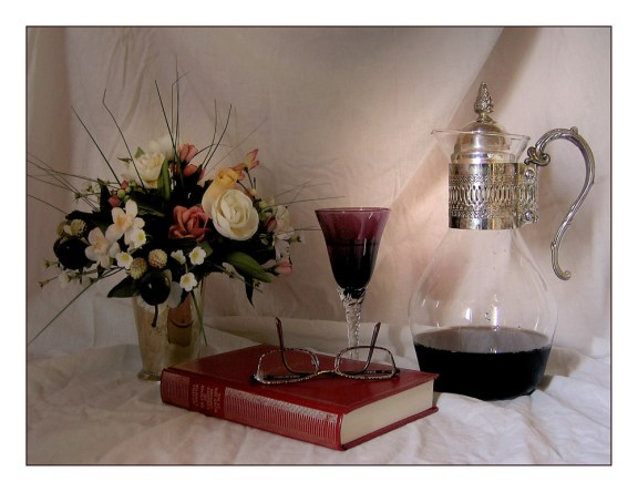 CP-IMG_3825-livre, bouquet, carafe & verre 2
