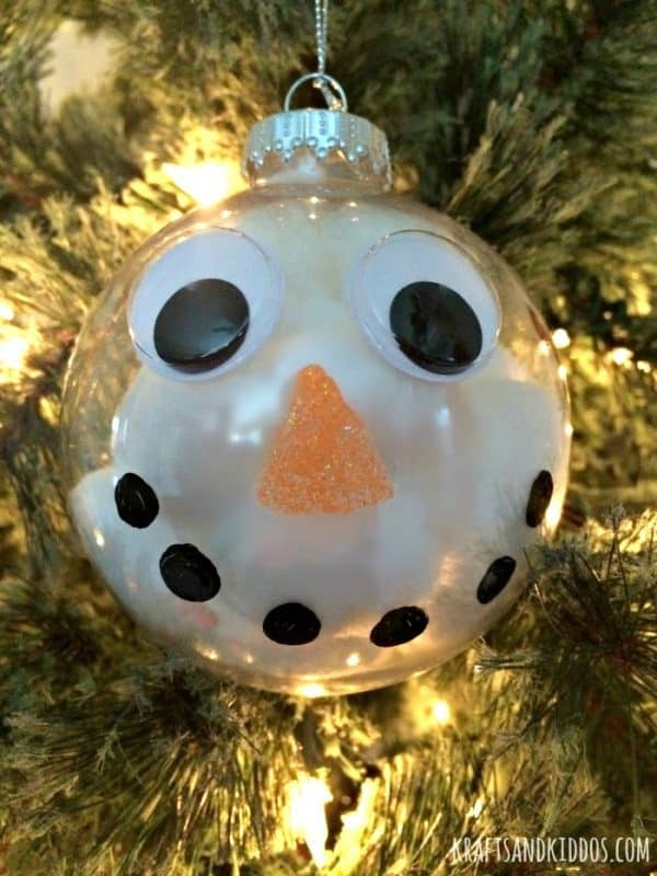 30 Easy To Make Snowman Ornaments For Christmas