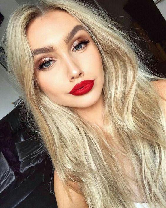 maquiagem para loiras 2020
