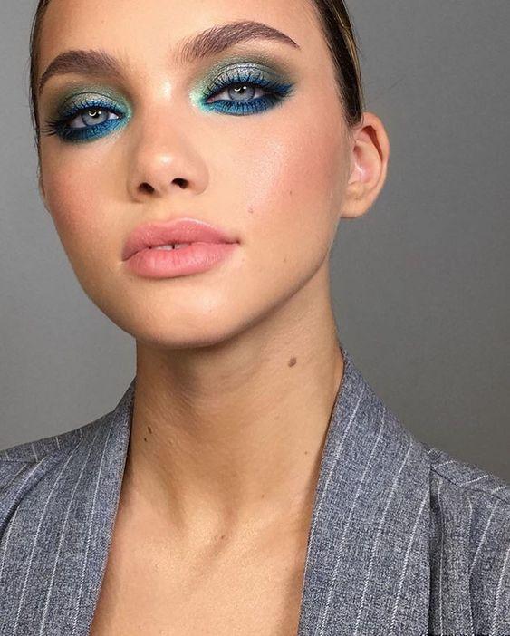 maquiagens coloridas para 2020
