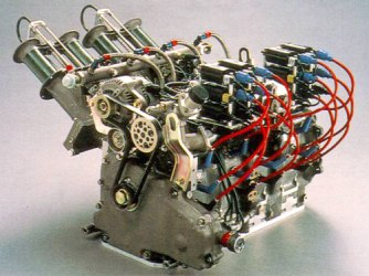 Mazda R26B Engine.