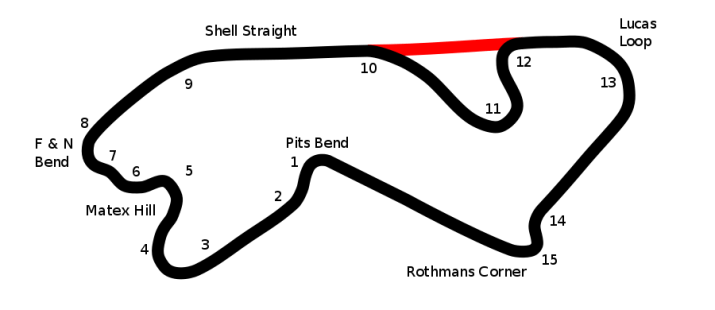 The Shah Alam track for 1985.