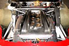 The 1994 Alfa Romeo 155 V6 Ti.