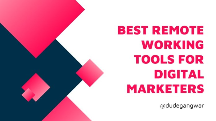 Best Remote Working Tools for Digital Marketers