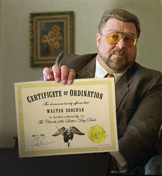 Get Ordained Free As A Dudeist Minister