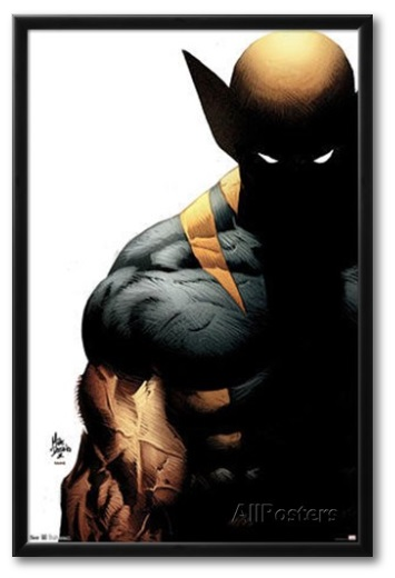 comic posters wolverine