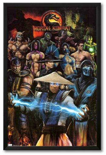 mortal combat poster