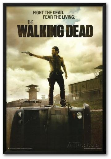 walking dead posters