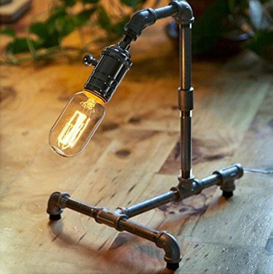 metal water pipe lamp