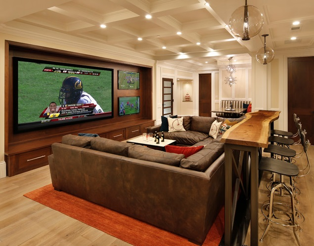seating ideas for man cave